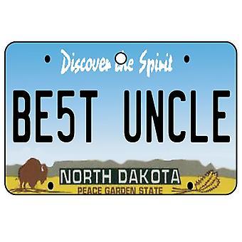 Dakota del norte - el mejor ambientador del coche de la placa del tío licencia