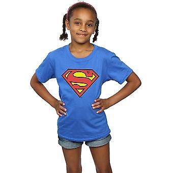 DC Comics piger Superman Logo T-Shirt