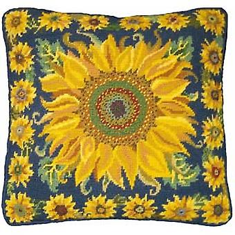 Sunflower Garden Needlepoint Kit