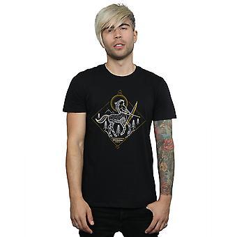 Harry Potter Men's Centaur Line Art T-Shirt
