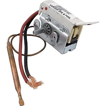 """Invensys 275-2568-00 6"""" 0.25"""" Diameter 25A Short Leads Thermostat"""