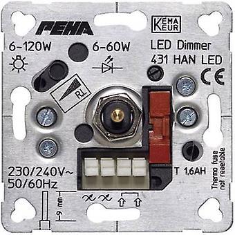 時に PEHA がハネウェル 1 個挿入調光時に PEHA アルミニウム D は 439 の HAB o. a. で
