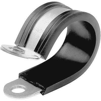 Norma 9418912016 NORMAFIX Hose clamps Screw fixing + chloropene protection Silver, Black 1 pc(s)