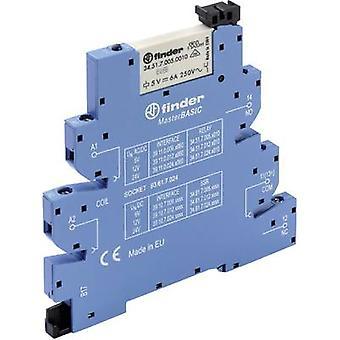 Finder 39.11.0.012.0060-1 - MasterBASIC Electromechanical Relay Interface Module, EMR, SPDT-CO 250V AC 6A