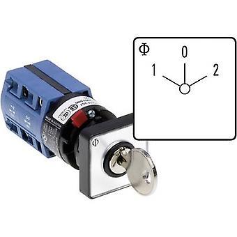 Kraus & Naimer CG4 A211-600 FS2 V750D/2H Changeover switch 10 A 1 x 60 ° Grey, Black 1 pc(s)