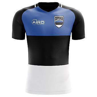 2018-2019 Estland hjem koncept fodbold Shirt (børn)