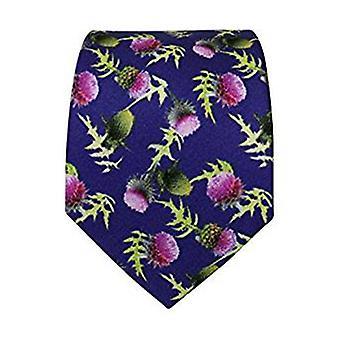 Thistle Silk Tie