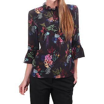 PS Paul Smith Silk Woven Floral Blouse