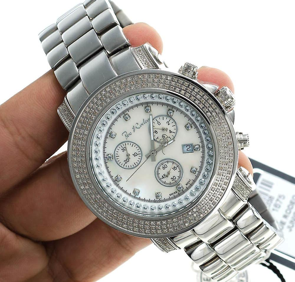 Joe Rodeo diamond men's watch - JUNIOR silver 2.5 ctw
