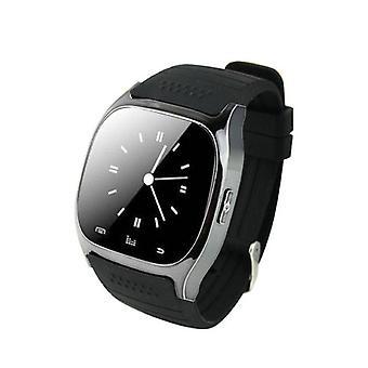 Spullen Certified® oorspronkelijke M26 Smartphone Watch OLED SmartWatch Android iOS zwart