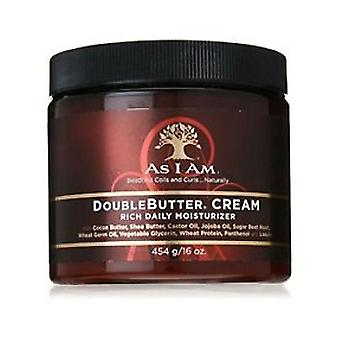 As I Am Double Butter Rich Moisturiser 454g