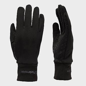 Nieuwe Trekmates Women's touchscreen compatable grip handschoenen zwart