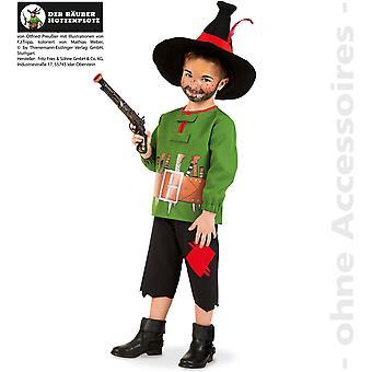 Fantasia infantil de Hotzenplotz traje crianças bandido desonestos homem selvagem
