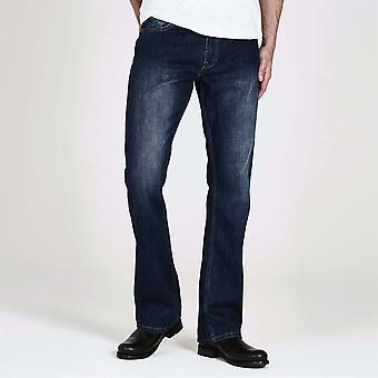 Firetrap Herre Tokyo Jeans bukser bukser bunde denim