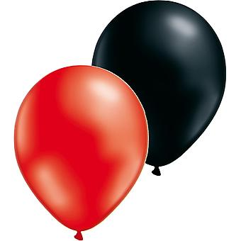Ballons Mix 24-pack rouge/noir