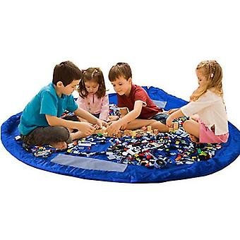 Storage Pouch/Playmat for toys-Blue