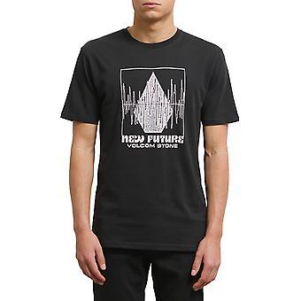 Volcom Lay it Down kortärmad T-shirt i svart