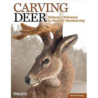 Carving rådjur - mönster och referens för realistiska träsnideri av Des