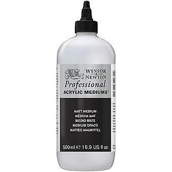 Winsor & Newton Professional Acrylic Matt Medium 500ml