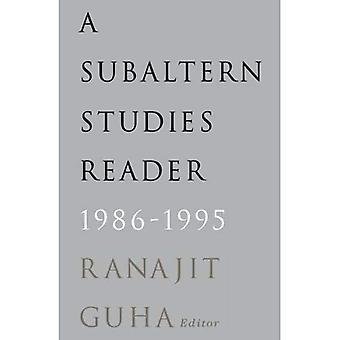 A Subaltern Studies Reader, 1986-95