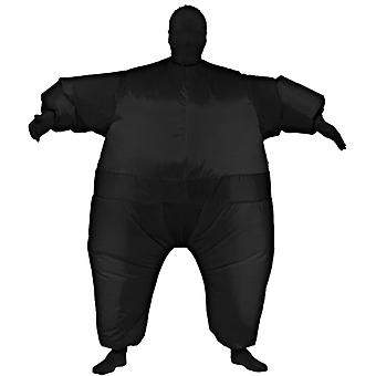 Inflatable Skin Suit Black Adult