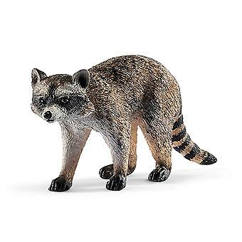 Schleich 14828 vilda liv tvättbjörn figur
