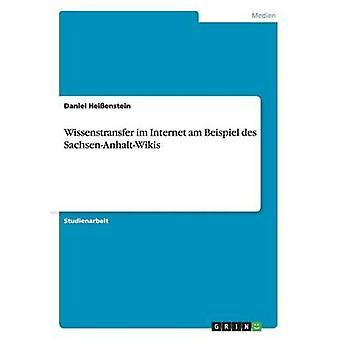 Wissenstransfer im Internet er Beispiel des SachsenAnhaltWikis Heienstein & Daniel