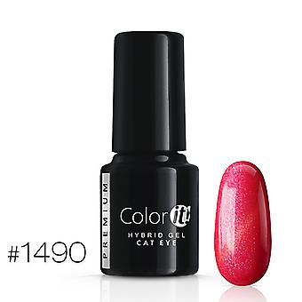Gellack-Color IT-Premium-Cat Eye-* 1490 UV gel/LED