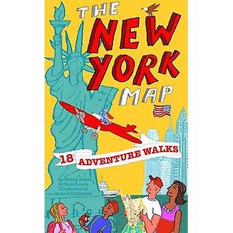 Adventure Walks New York Map - Sightseeing Walks for Families by Becky