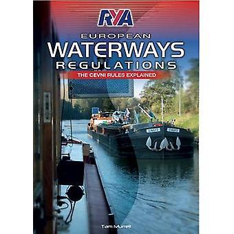 RYA European Waterways Regulations (2nd edition) by Tam Murrell - 978