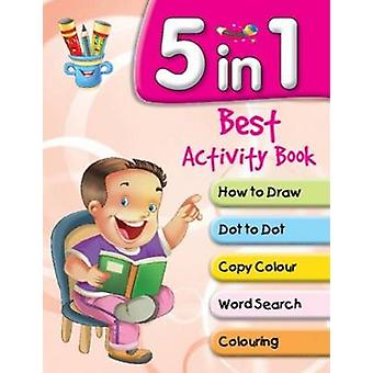 5 in 1 Best Activity Book by Pegasus - 9788131934777 Book