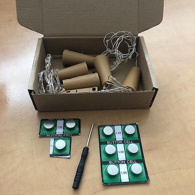 LED kork med 10 LED lampor på en sträng, flaska propp, lampa