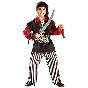 Pirate Sea Captain Cutthroat Jack Sparrow Treasure Hunter Book Week Boys Costume