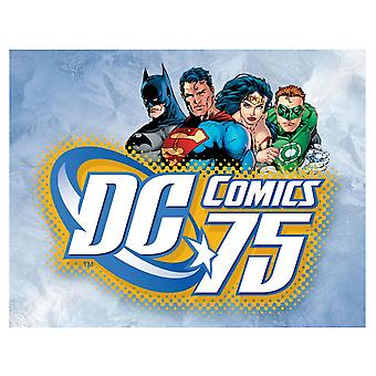 DC Comics 75Retro segno di latta