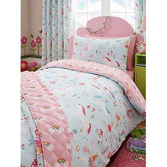 Magical Unicorn Duvet Cover & Pillowcase Set