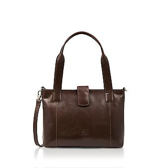 Borsa a tracolla in pelle Bowland in Brown