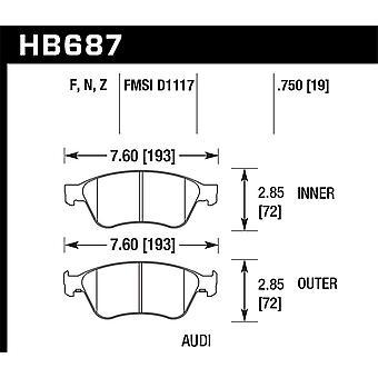 Hawk Performance HB687F.750 HPS