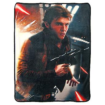 Super Soft Throws - Han Solo - Dodge New 45x60