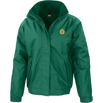 RLC Royal Logistics Corps - Licensed British Army Embroidered Waterproof Jacket With Fleece Inner
