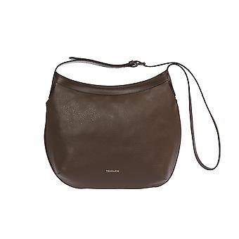 Donna Trussardi's shoulder bag in real leather 1DB508