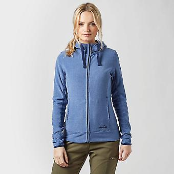 Nya Peter Storm kvinnor ' s full zip microfleece hoodie blå