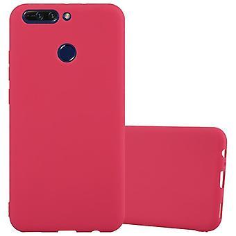 Cadorabo Hülle für Honor 8 PRO Case Cover - Handyhülle aus flexiblem TPU Silikon – Silikonhülle Schutzhülle Ultra Slim Soft Back Cover Case Bumper