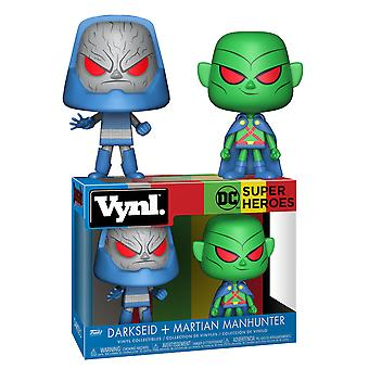 Justice League Martian Manhunter, Darkseid Vynl.
