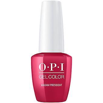 OPI GelColor Gel Color Color - Soak Off Gel Polacco - Signora Presidente 15ml (GC W62)