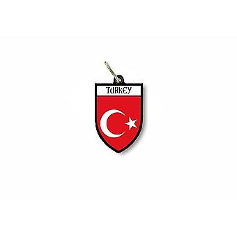 Door key key flag collection Turkish city coat