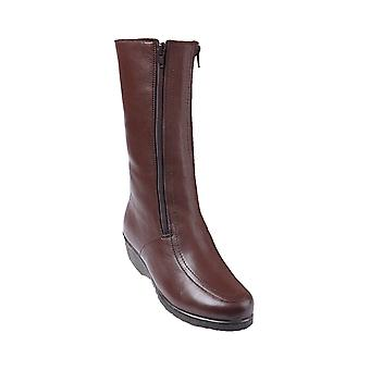 Chums Twin Zip Leather Boot