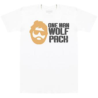Pacchetto One Man Wolf - Mens T-Shirt