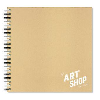 The Art Shop Skipton Kraft Cover Sketchbook 30 x 30cm