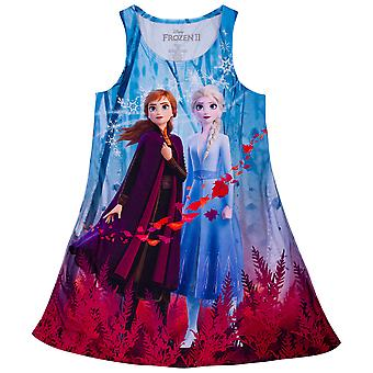 Frozen 2 Girls Vestido Sublimado