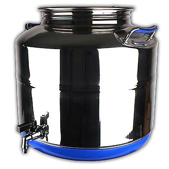 Stainless Steel Drum 50 Litre With Tap